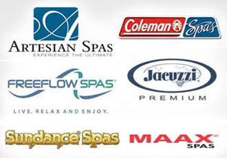 All Major Spa & Hot Tub Brands