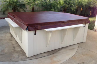 Durable & Low-Maintenance Spa Covers